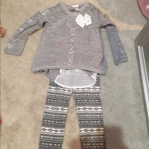Girls holiday outfit